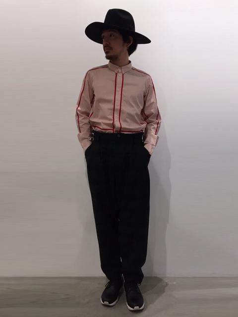 コットンシャツ【HENRIK VIBSKOV】