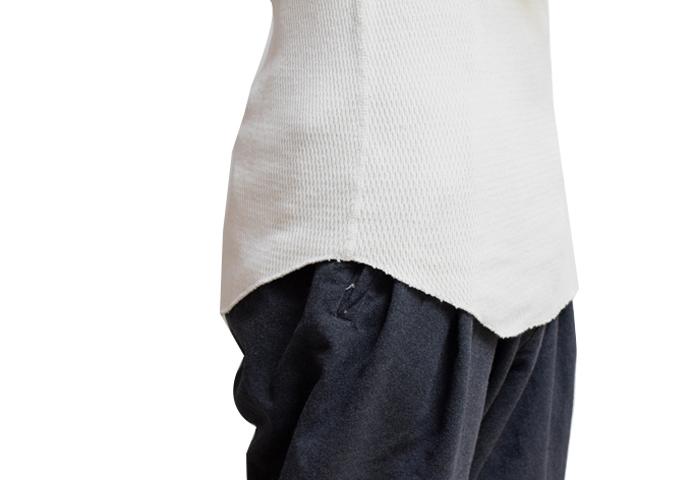 ダブルフェイスサーマルTシャツ【Healthknit】
