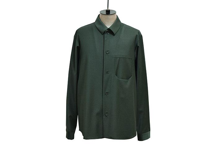 トロピカルウールシャツ【ETHOSENS】