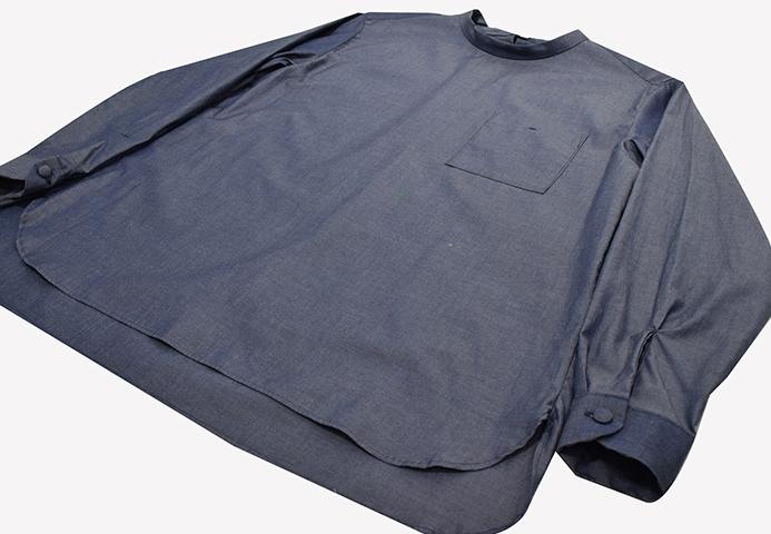 モックネックシャツ【PULETTE】